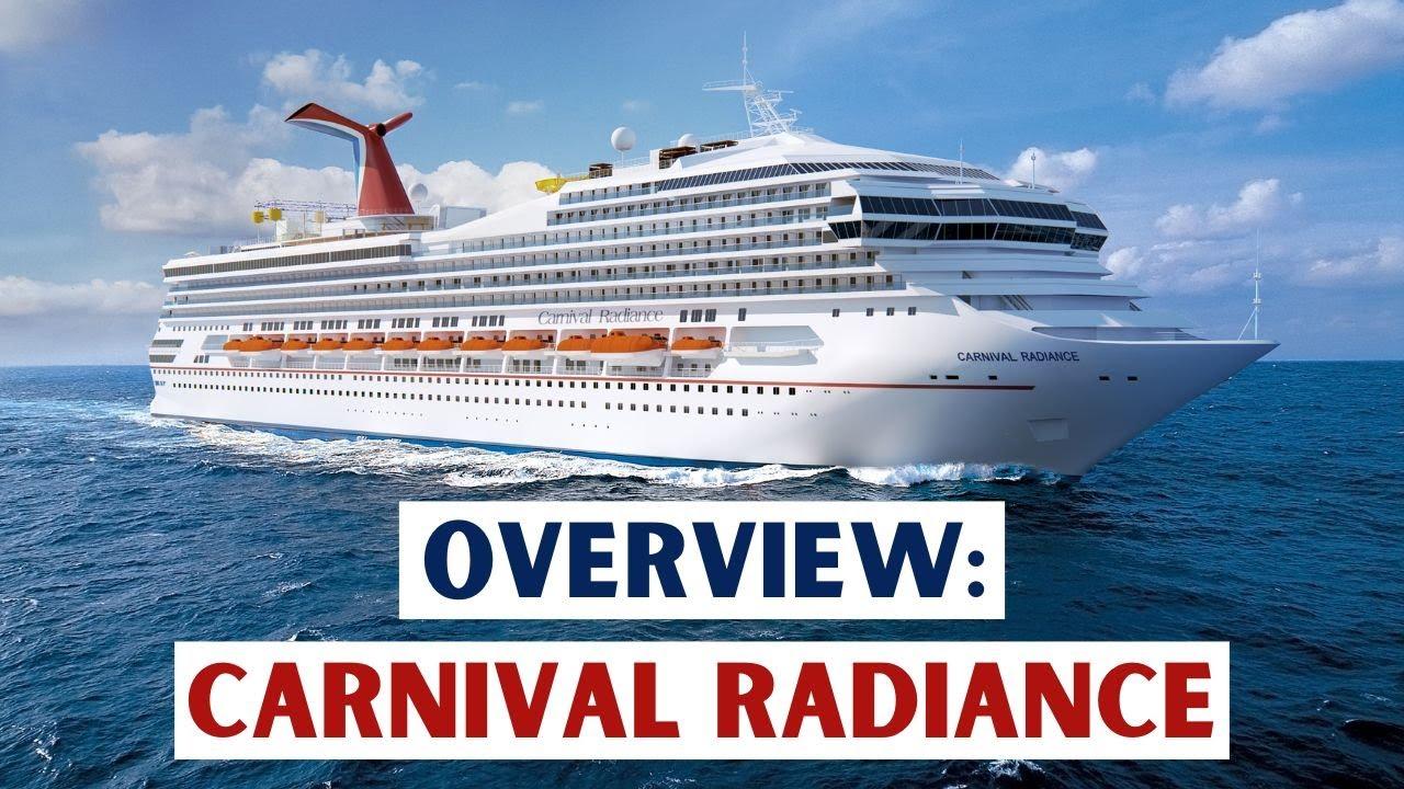 Meet Carnival Radiance 2018 Youtube
