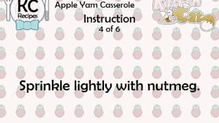 Apple Yam Casserole - Kitchen Cat