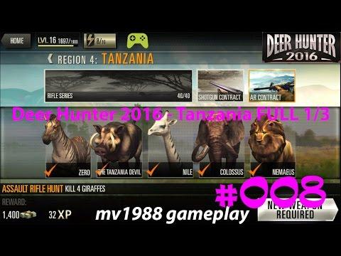 Deer Hunter 2016 - Region 4 Tanzania 1/3 Gameplay Walkthrough HD (part #008)