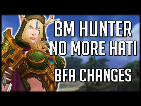 BEAST MASTERY HUNTER CHANGES IN BFA - No More Hati | WoW Battle for Azeroth