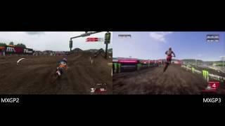 MXGP Video game compare - MXGP2 vs MXGP3 - Matterly Basin