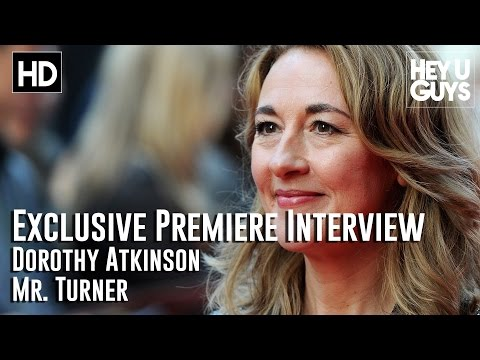Dorothy Atkinson Interview - Mr. Turner Premiere