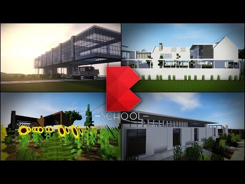 Minecraft: Buildz School | Minecraft Building Ideas | Tips And Tricks To Build Better In Minecraft
