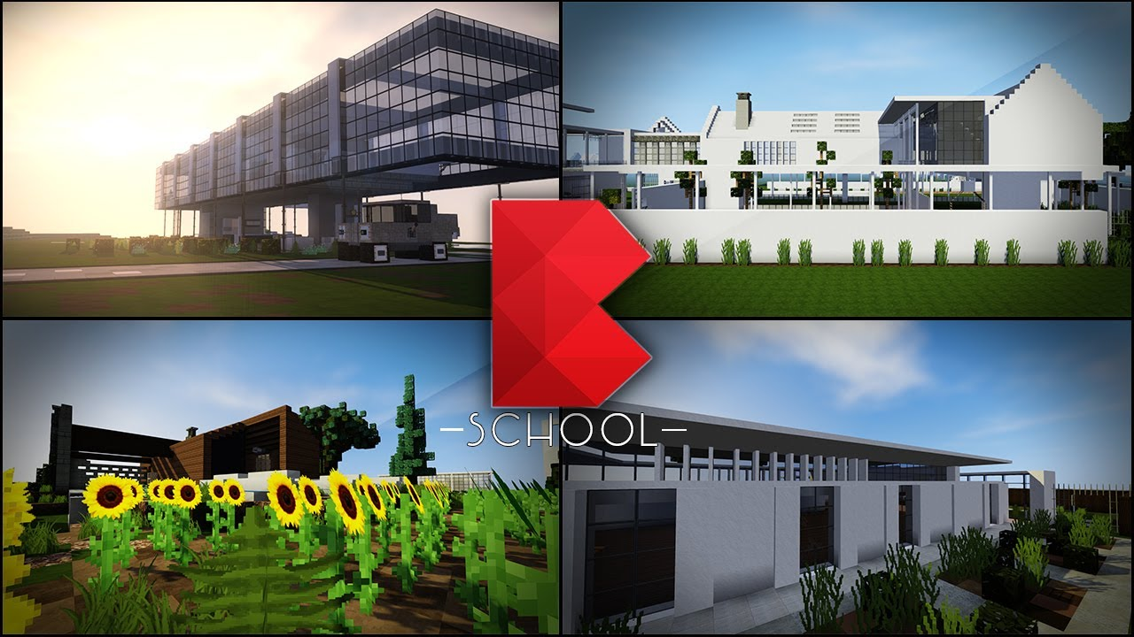 Minecraft buildz school minecraft building ideas tips for Construction tips and tricks