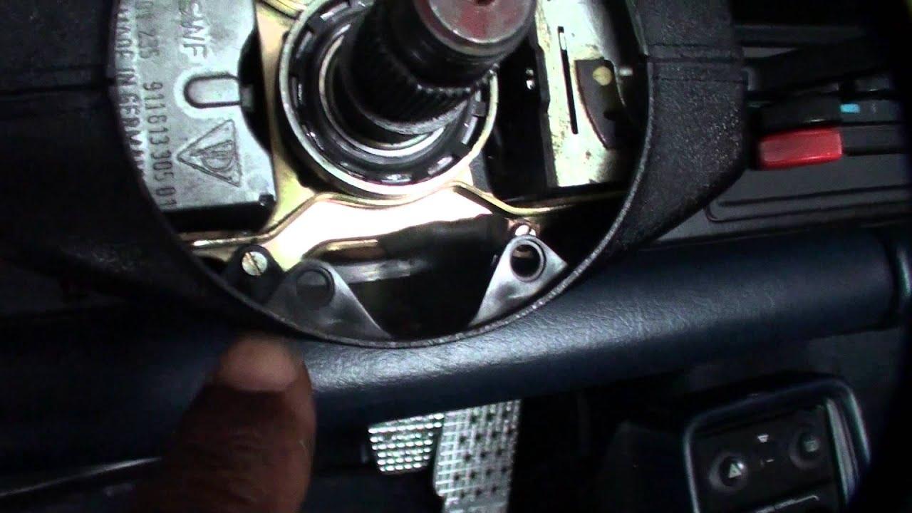 porsche 911 steering column cover removal