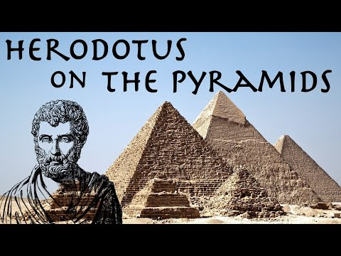 Herodotus on The Pyramids // The Histories 440 BC // Ancient Greek Primary Source