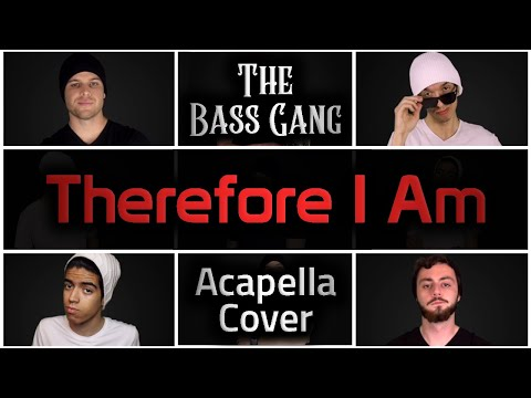 Billie Eilish - Therefore I Am (Bass Singers Acapella Cover)