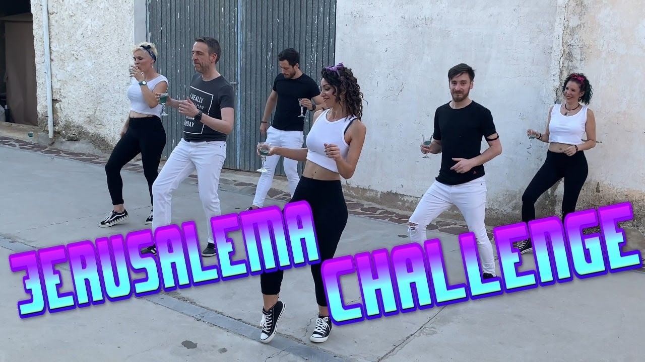 Jerusalema Flash mob Dance Challenge ? | A Contr@tempo | Master KG feat Nomcebo