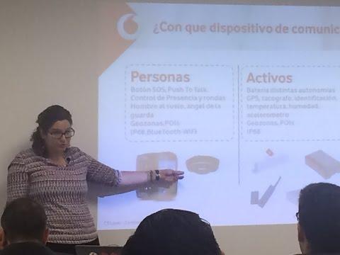 Cristina Izquierdo (Vodafone) en Jornadas M2M-IoT en Executive Forum España