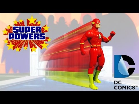 KENNER SUPER POWERS COLLECTION - THE FLASH (eng) ACTION FIGURE REVIEW