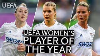 vuclip BRONZE, HEGERBERG, HENRY: UEFA Women's Player Of The Year 2018/19 SHORTLIST