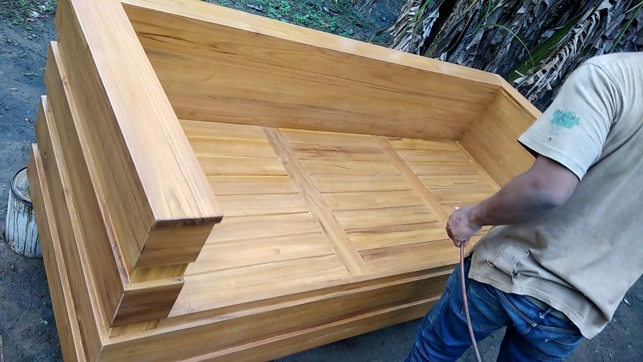 Kursi Tamu Minimalis Box Jepara Furniture Youtube