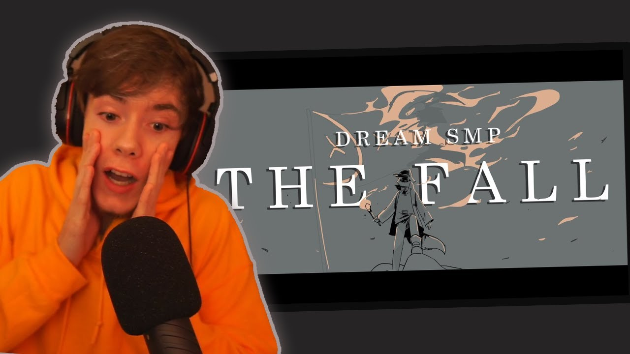 """Fundy Reacts To """"The Fall"""" DreamSMP Animatic By Sadist"""
