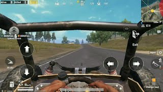 Pubg Mobile  Driving all Vehicle  View  From Inside in FPP (First Person)