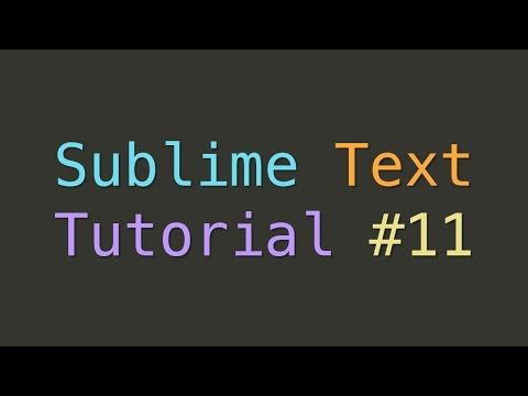 Sublime Text Themes And Color Schemes Tutorial 11