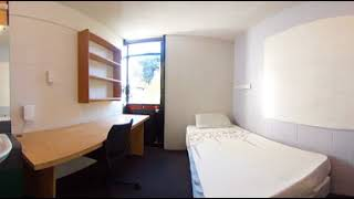 Weir House—360 single bedroom, James Hutchinson Wing (empty)