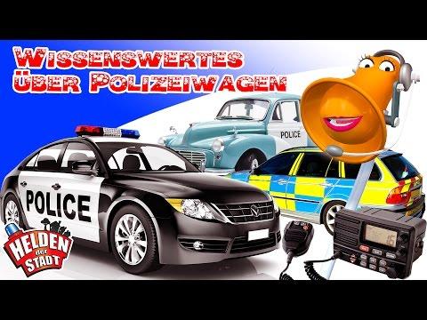 Die Helden der Stadt - Wissenswertes über Polizeiwagen