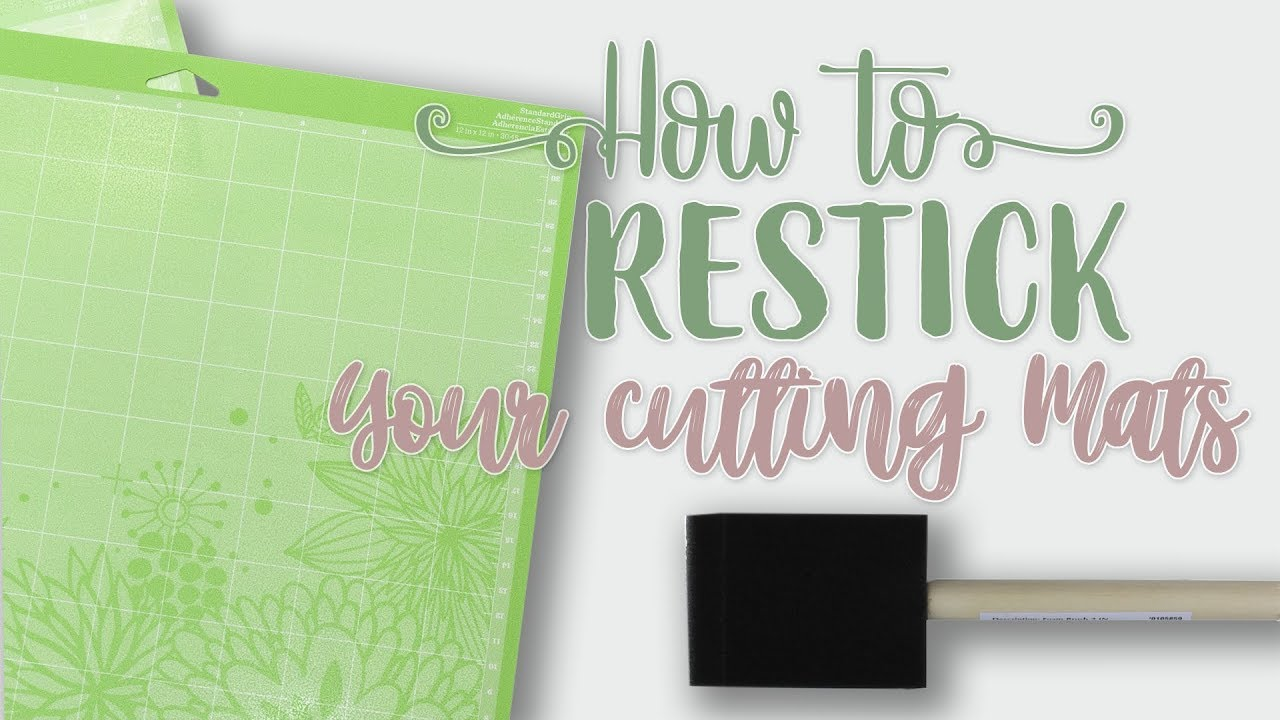 6 Ways To Clean And Restick Your Cutting Mats Personal Die