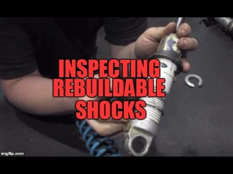 How To Inspect Rebuildable Snowmobile Shocks