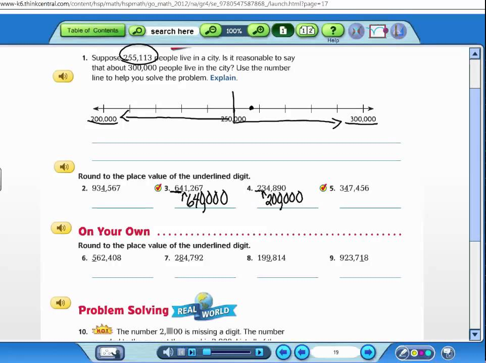 write place value of underlined digit Round decimals write the place value of the underlined digit round each number to the place of the underlined digit.