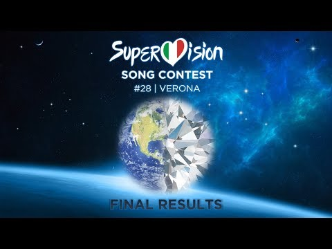 Super Vision Song Contest 28 • Final Results