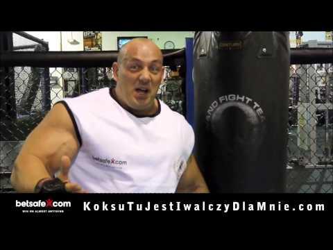 Wywiad - Hardkorowy Koksu po wygranej walce z Najmanem (27.04.12) from YouTube · Duration:  6 minutes 35 seconds