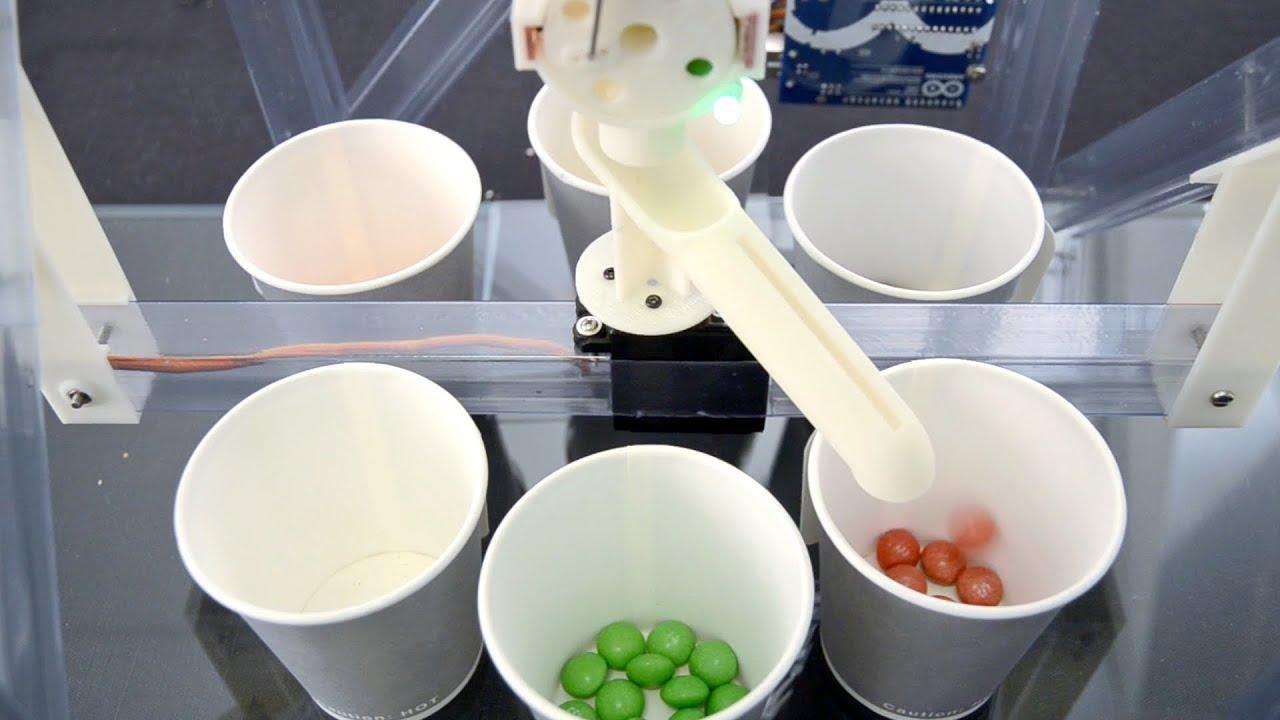 La machine à trier les Skittles et les M&M's