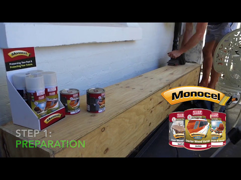 Monocel Varnish Application