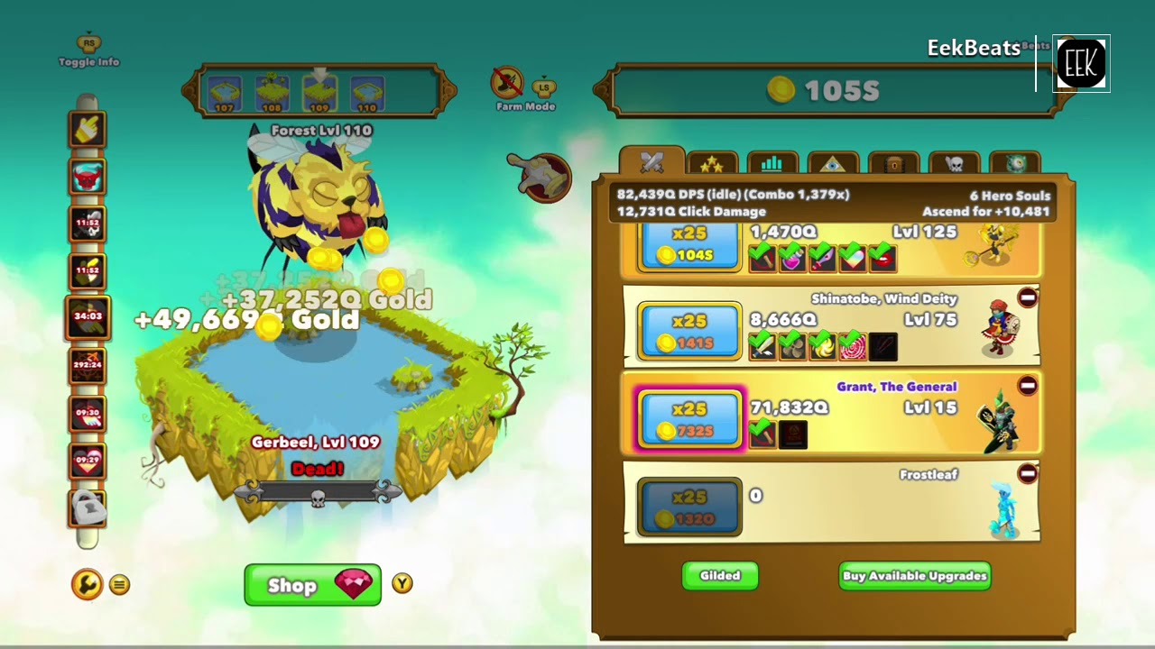 Clicker Heroes Unlimited Hero Soul Glitch [Patched]