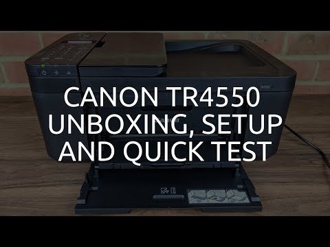 canon-tr4550-unboxing,-setup-and-quick-test