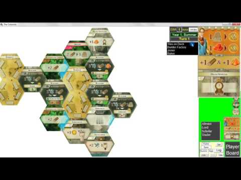 The Colonists - Complete 4-Era Playthrough and Tutorial