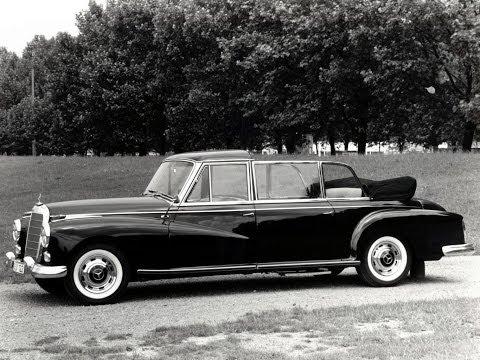 #55. Старые автомобили - Mercedes-Benz 300