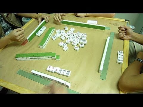 Intermediate Chinese , When & While Sentence , Taiwan College Life with Mahjong