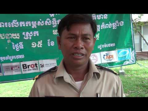 Campaign on Increased Access to Public Information IAPI on 15 Sept 2015 at Kokbanteay, Kg Chhnang