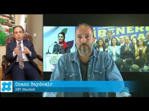 HDP Eş Sözcüsü Osman Baydemir, Hayko Bağdat'a gündemi değerlendiriyor