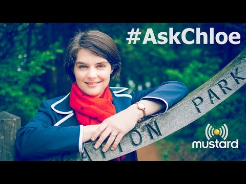 MP Chloe Smith answers viewers questions on Mustard TV