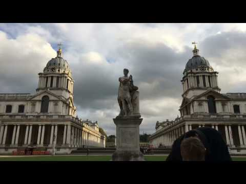Greenwich Man Time (GMT) - LONDON ORCHY VLOG 002