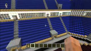 WWE Money in the Bank arena tour through Minecraft