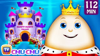 Repeat youtube video Humpty Dumpty Sat On A Wall and Many More Nursery Rhymes for Children | Kids Songs by ChuChu TV