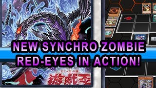 NEW Zombie Synchro Red-Eyes In action! Yugioh Gameplay of Zombie Structure deck 2018 + Deck Profile