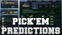 CS:GO - Meine Pick'Em Challenge Vorhersagen