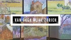 VAN GOGH ALIVE EXHIBITION MAAG HALLE ZURICH Part 1