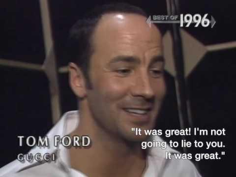 Videofashion Vault: Tom Ford for Gucci 1996