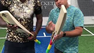 This is how CHRIS GAYLE  selects his bat for international matches.