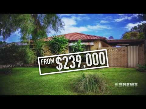 House Price Plunge | 9 News Perth
