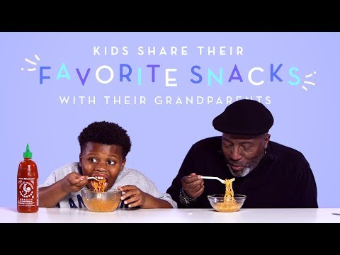 Pablo - Kids Share Their Favorite Snacks with Their Grandparents