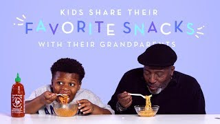 Download Kids Share Their Favorite Snacks with Their Grandparents | Kids Try | HiHo Kids Mp3 and Videos