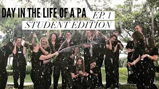 Day in the Life of a PA| Ep.1 Student Edition|