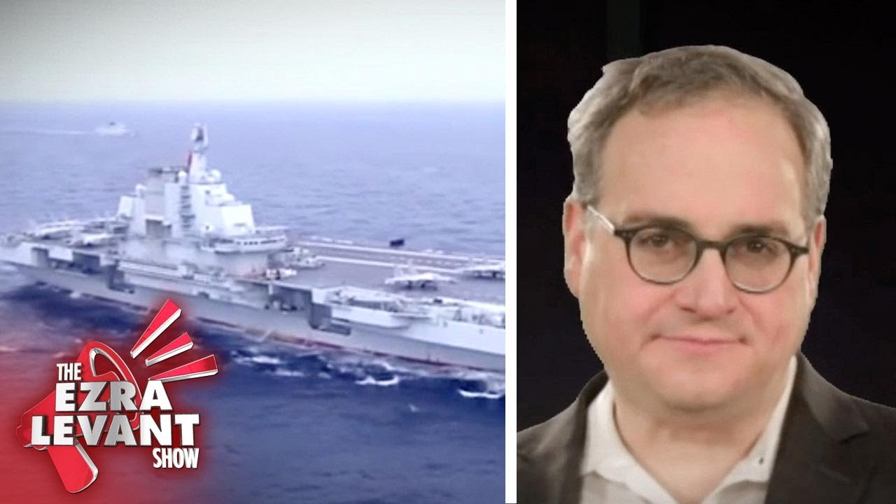 China is second only to the US in military spending, and Canada is helping out | Ezra Levant