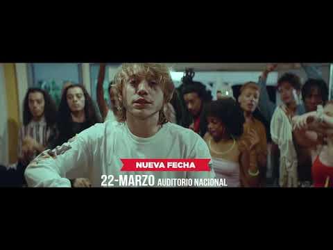 Paulo Londra en concierto 21 y 22 de Marzo, Auditorio Nacional.